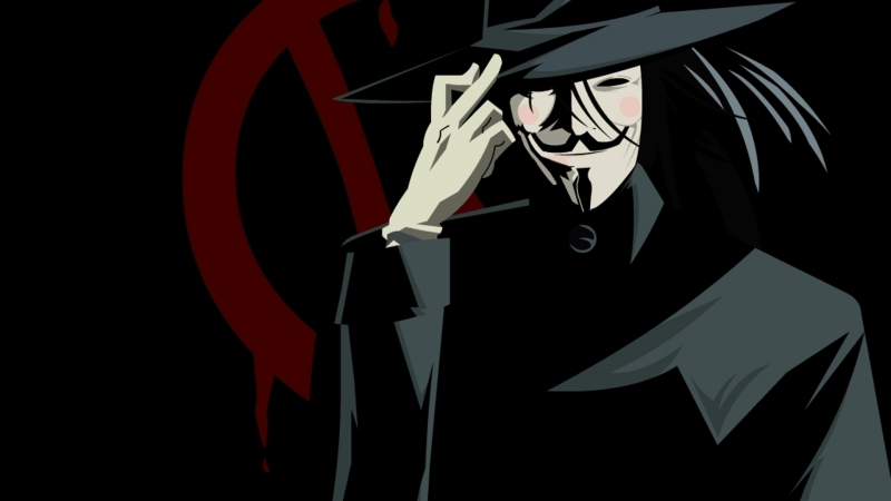 v for vendetta wallpaper. Comic Book Wallpapers